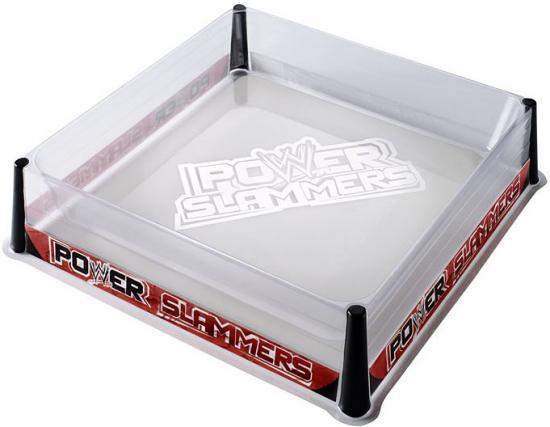 WWE Wrestling Power Slammers Ring Action Figure Playset