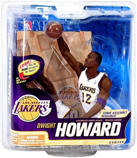 McFarlane Toys NBA Los Angeles Lakers Sports Picks Series 22 Dwight Howard Action Figure [White Jersey]