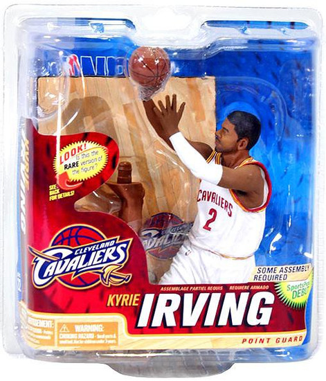 McFarlane Toys NBA Cleveland Cavaliers Sports Picks Series 22 Kyrie Irving Action Figure [White Jersey]