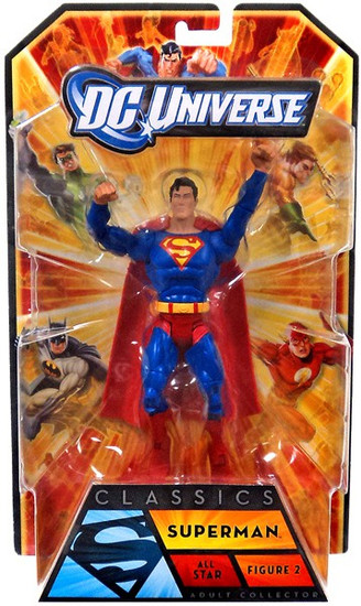DC Universe All-Stars Classics Superman Action Figure #2 [Arms up]