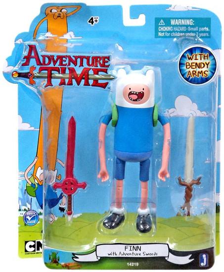 Adventure Time Finn Action Figure [With Adventure Swords]
