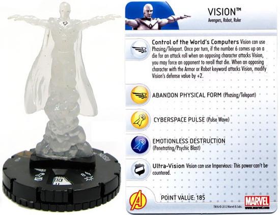 Marvel HeroClix Chaos War Vision #100