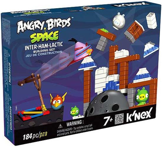 K'NEX Angry Birds Inter-Ham-Lactic Set #72401