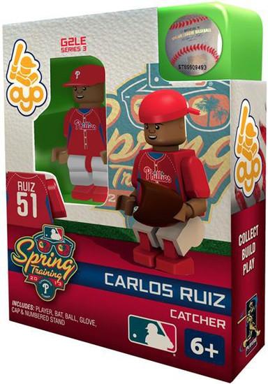 Philadelphia Phillies MLB Generation 2 Series 3 Carlos Ruiz Minifigure [Spring Training]