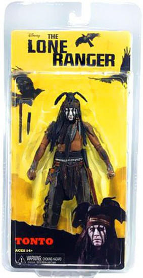 NECA The Lone Ranger Tonto Action Figure