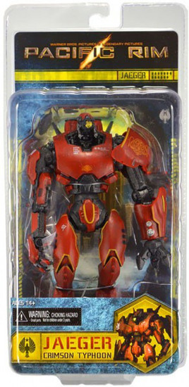 NECA Pacific Rim Series 1 Crimson Typhoon Action Figure [Jaeger]