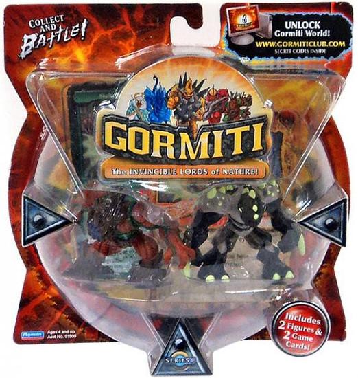 Gormiti Wise Destroyer & Hideoutfinder Mini Figure 2-Pack