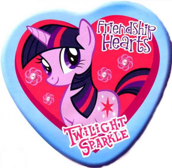 My Little Pony Twilight Sparkle Candy Tin