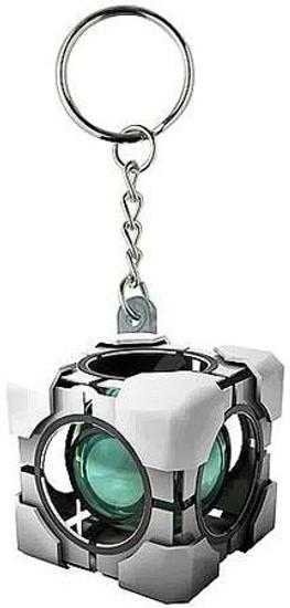 Portal 2 Vinyl Refracting Box Keychain