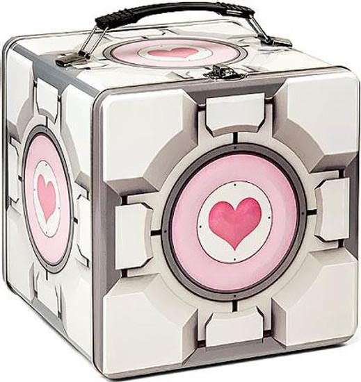 Portal 2 Companion Cube Lunch Box [Tin]