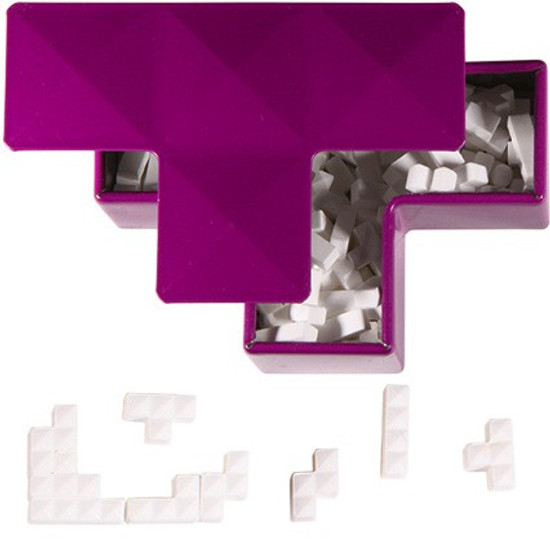 Tetris Tetrimino Mini Mints Candy Tin