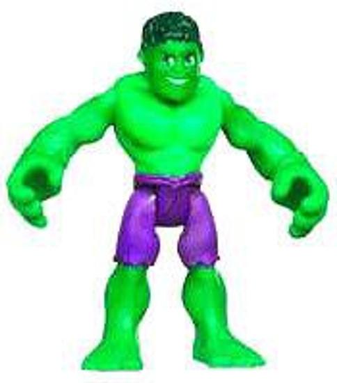 Marvel Playskool Heroes Super Hero Adventures Hulk Mini Figure [Bagged]