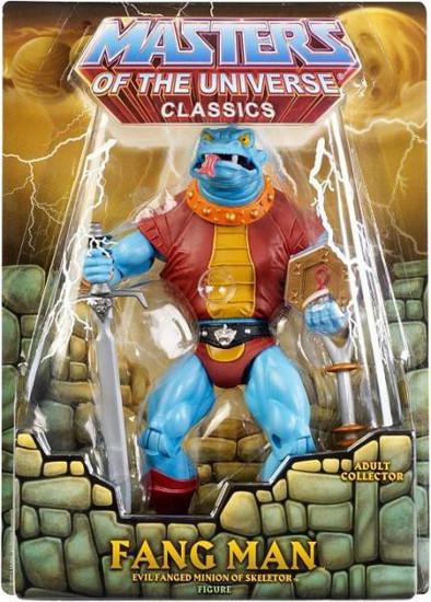 Masters of the Universe Classics Club Eternia Fang Man Exclusive Action Figure