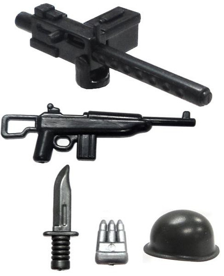 BrickArms American Support Gunner Battle Kit Exclusive 2.5-Inch Weapons Pack