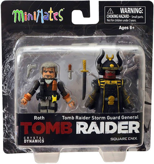 Tomb Raider Minimates Roth & Storm Guard General Minifigure 2-Pack