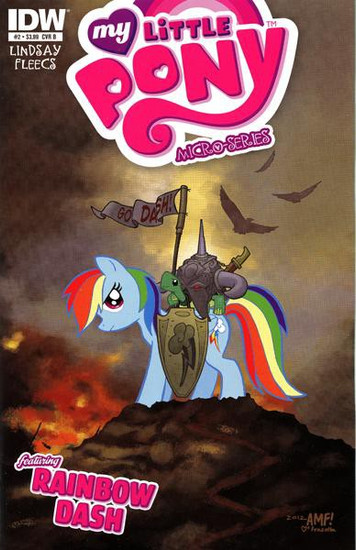 My Little Pony Micro-Series #2 Featuring Rainbow Dash Comic Book [Cover B]