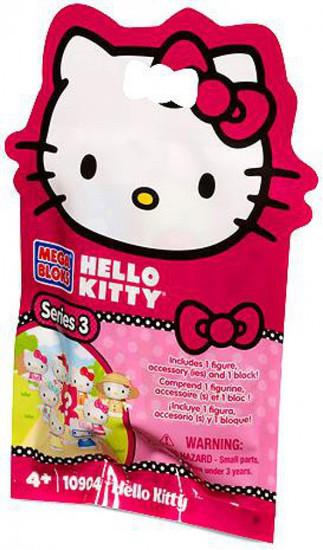 Mega Bloks Hello Kitty Series 3 Minifigure Mystery Pack #10904
