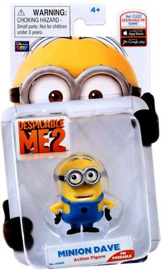 Despicable Me 2 Minion Dave Action Figure