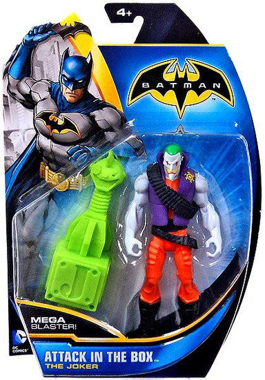 Batman The Joker Action Figure [Attack in the Box]