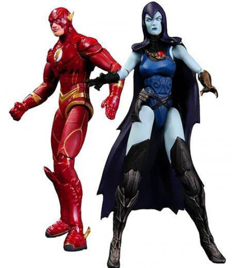 DC Injustice: Gods Among Us The Flash & Raven Action Figure 2-Pack