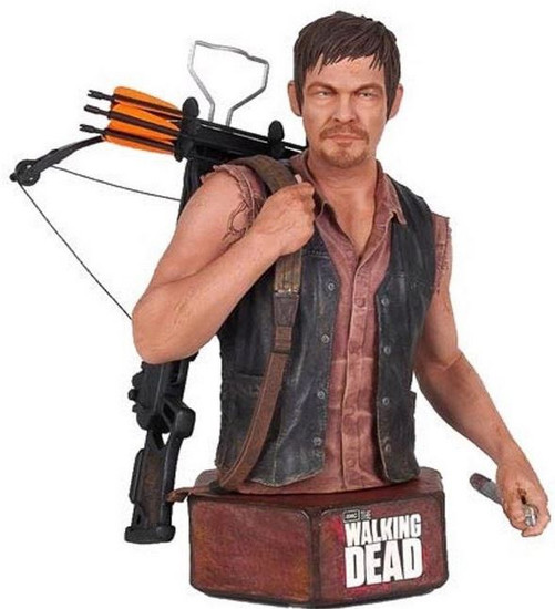 The Walking Dead AMC TV Statues & Busts Daryl Dixon Mini Bust