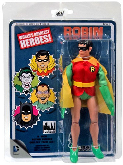 Batman World's Greatest Heroes Series 1 Robin Action Figure