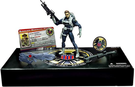 Marvel Universe Nick Fury Exclusive Action Figure