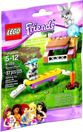 LEGO Friends Bunny Hutch Mini Set #41022 [Bagged]