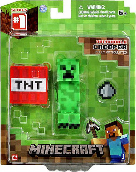Minecraft Series 1 Creeper Action Figure [Overworld]