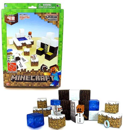 Minecraft Snow Set Papercraft
