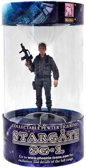 Stargate SG-1 Lieutenant Colonel Cameron Mitchell Pewter Figure [Black Ops]
