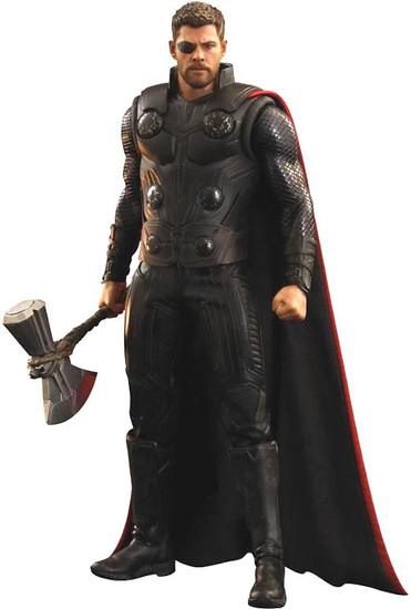 Marvel Avengers Infinity War Movie Masterpiece Thor Collectible Figure [Infinity War]