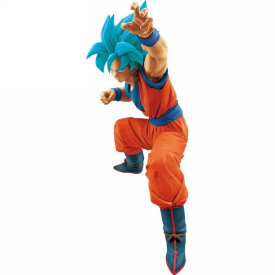 Dragon Ball Super Super Saiyan Blue Son Goku 9.4-Inch Large PVC Figure [Super Saiyan Blue]