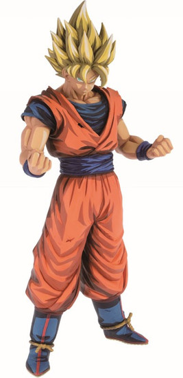 Dragon Ball Super Grandista Manga Dimensions Super Saiyan Son Goku 11-Inch Collectible PVC Figure