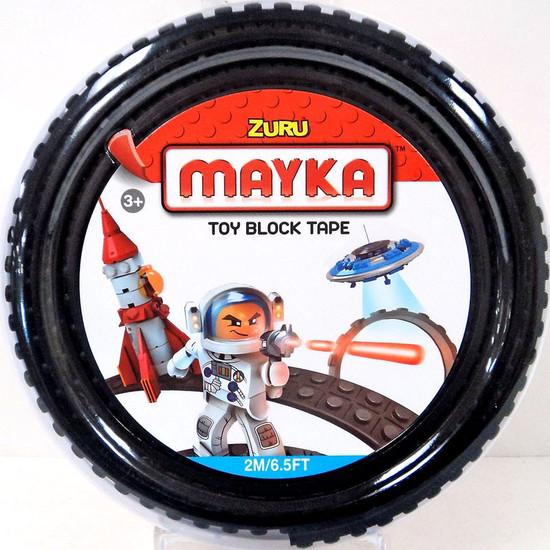 MAYKA Toy Block Tape 2M 6.5 ft Black