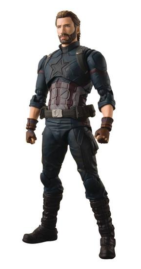 Marvel Avengers Infinity War S.H. Figuarts Captain America Action Figure [Tamashii Effect Explosion]