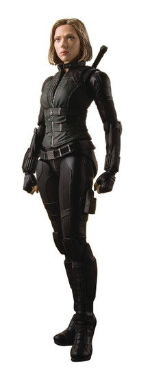 Marvel Avengers Infinity War S.H. Figuarts Black Widow Action Figure [Tamashii Effect Explosion]