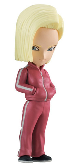 Dragon Ball Z Adverge Volume 7 Android 18 2-Inch Mini Figure