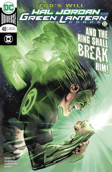 DC Hal Jordan and The Green Lantern Corps #40 Comic Book