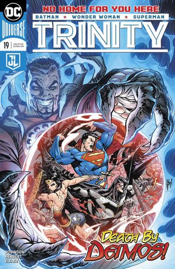 DC Trinity #19 Comic Book