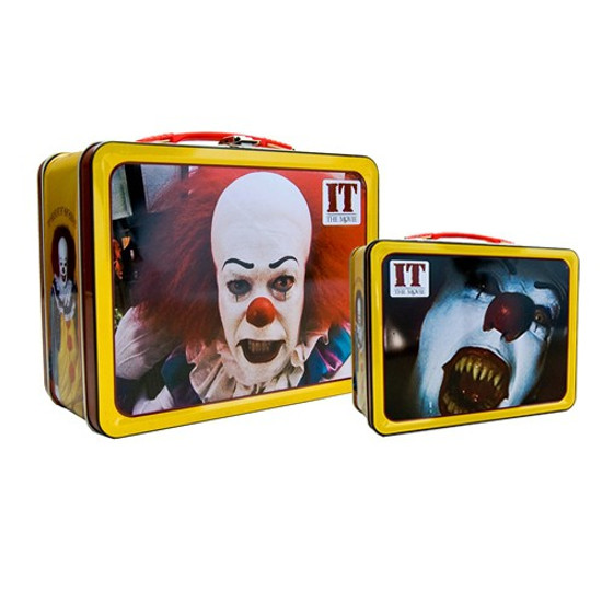 IT Movie (1990) Pennywise Lunch Tin Tote