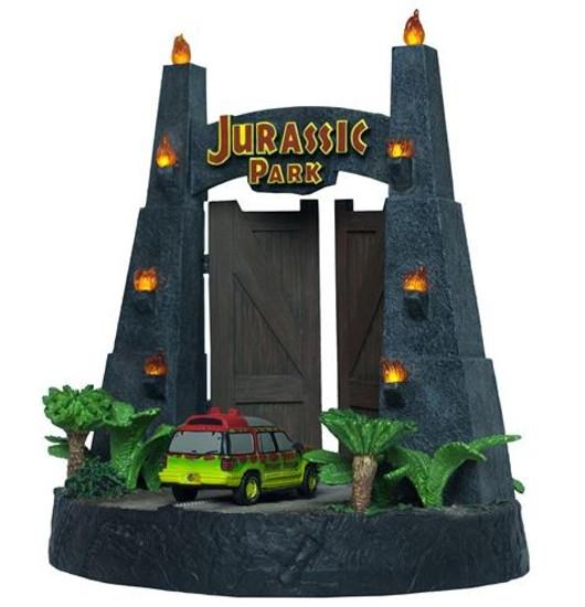 Jurassic Park Gates Environment 11-Inch Sculpture