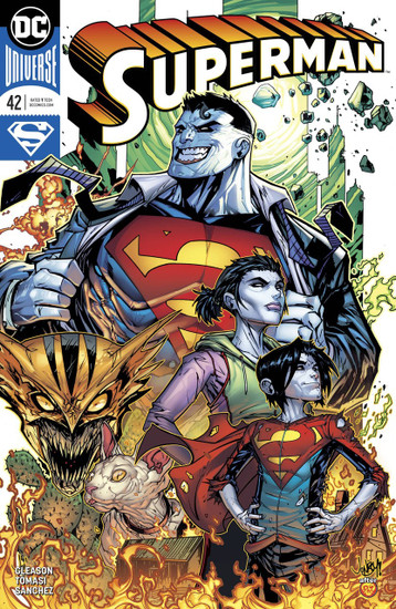DC Superman #42 Comic Book [Meyers Variant Cover]