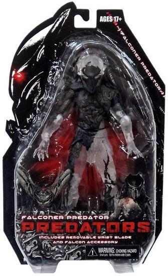 NECA Predators Series 7 Falconer Predator Action Figure [Camo Cloaked]