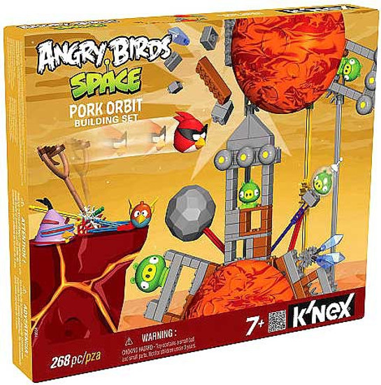 K'NEX Angry Birds Pork Orbit Set #72555