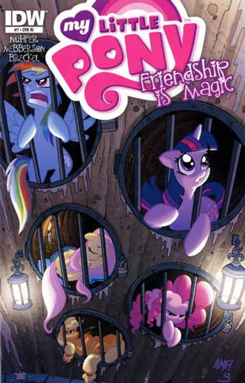 My Little Pony Friendship is Magic #7 Comic Book [Retailer Incentive]