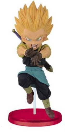 Super Dragon Ball Heroes WCF Figure Collection Vol.2 Super Sayian Gotenks 2.75-Inch Collectible PVC Figure [Xenoverse]