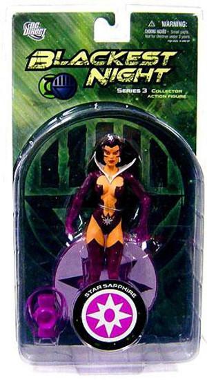 DC Green Lantern Blackest Night Series 3 Star Sapphire Action Figure