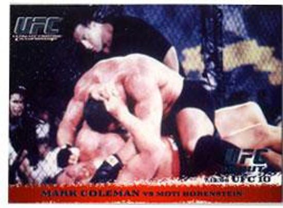 Topps UFC 2009 Round 1 Mark Coleman #3