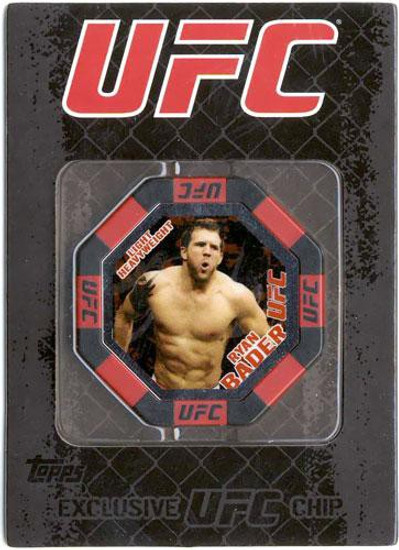 UFC Topps Main Event Ryan Bader Exclusive Poker Chip #6